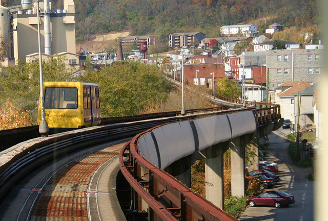 Morgantown Personal Rapid Transit Is The World 39 S Longest